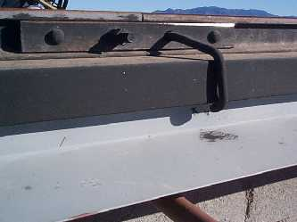 Roof rail detail
