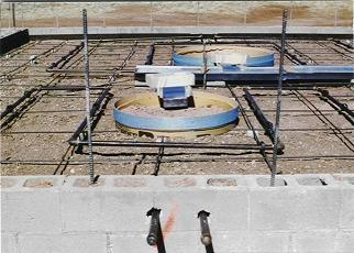 Individual Pier Cooling Pipes
